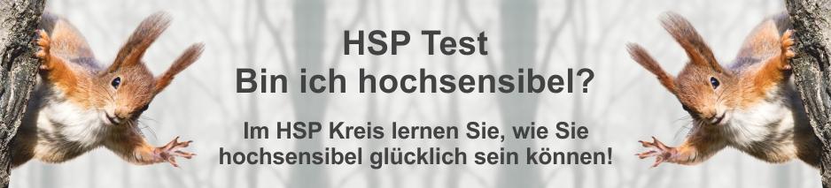 HSP - bin ich hochsensibel - Titelbild