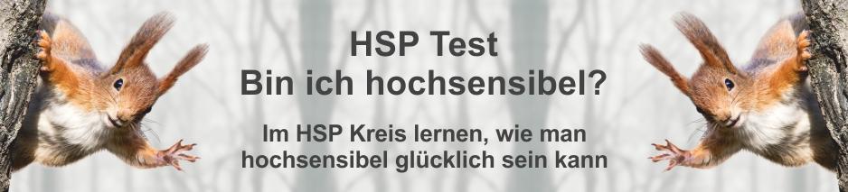 HSP Test bin ich hochsensibel - Titelbild