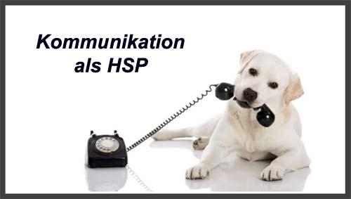 kommunikation als HSP