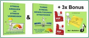 2er Set ebooks Stress mit 3x Bonus