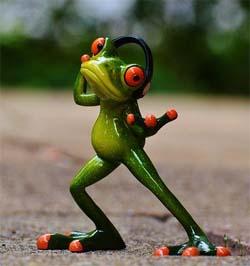 binaurale beats frosch