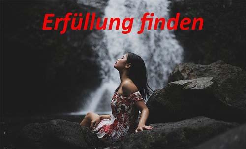 erfüllung finden