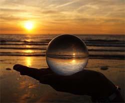 Orakel befragen mit der Kristallkugel